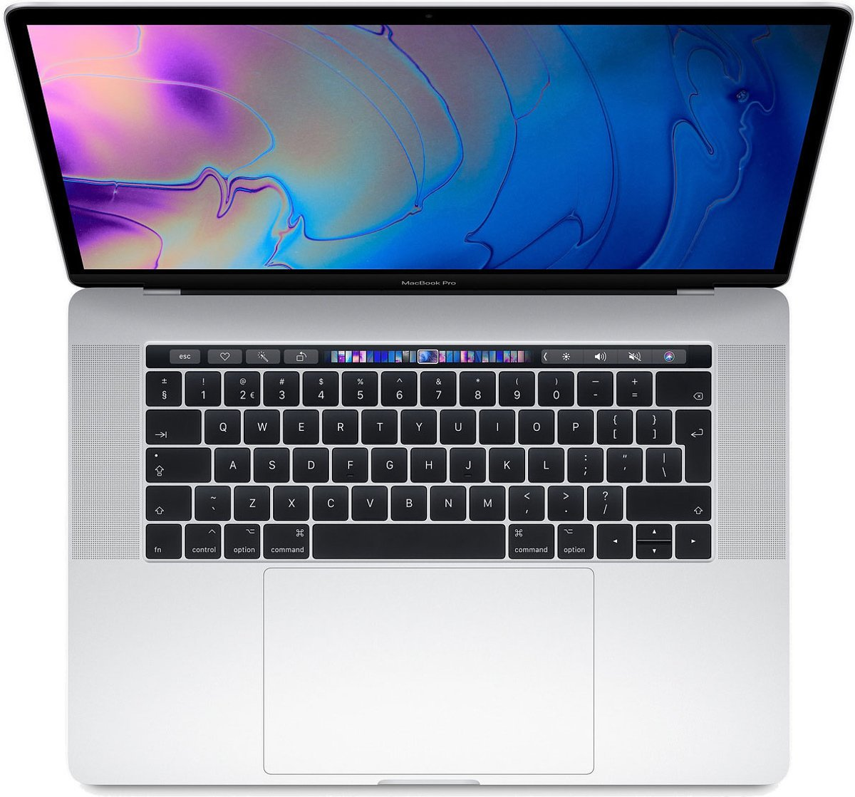 Apple MacBook Pro (2019) Touch Bar MV932FN/A – 15.4 Inch – 512 GB / Zilver – Azerty