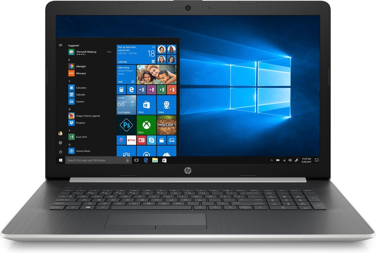 HP 17-by2049nb – Laptop – 17.3 Inch – Azerty
