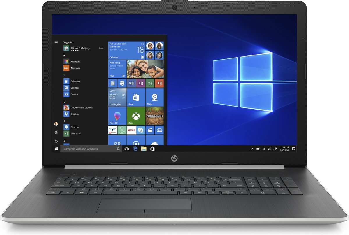 HP Notebook 17-ca1121nb – Laptop – 17.3 Inch – Azerty