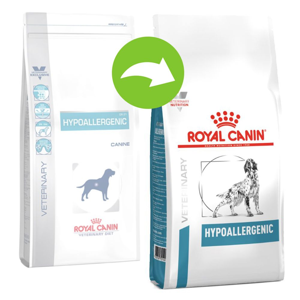Royal Canin Veterinary Diet – Hypoallergenic DR21 Hondenvoer – 2 kg