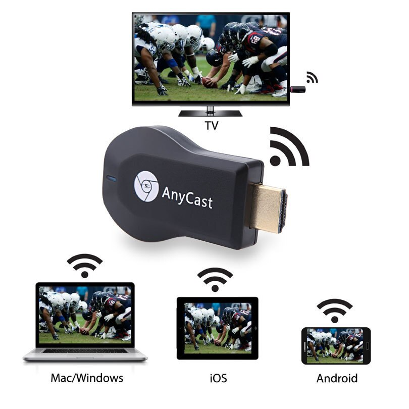 Hdmi Full HD1080P Miracast Dlna Airplay M2 Anycast Tv Stick Wifi Toon Ontvanger Dongle Ondersteuning Windows Andriod TVSE3